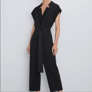 Zara belted jumpsuit NWT